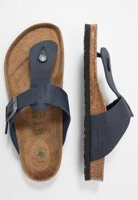 Birkenstock - MEDINA VEGA - T-bar sandals - matt navy - 1