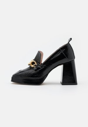 COSMIC DAY - Platform heels - black