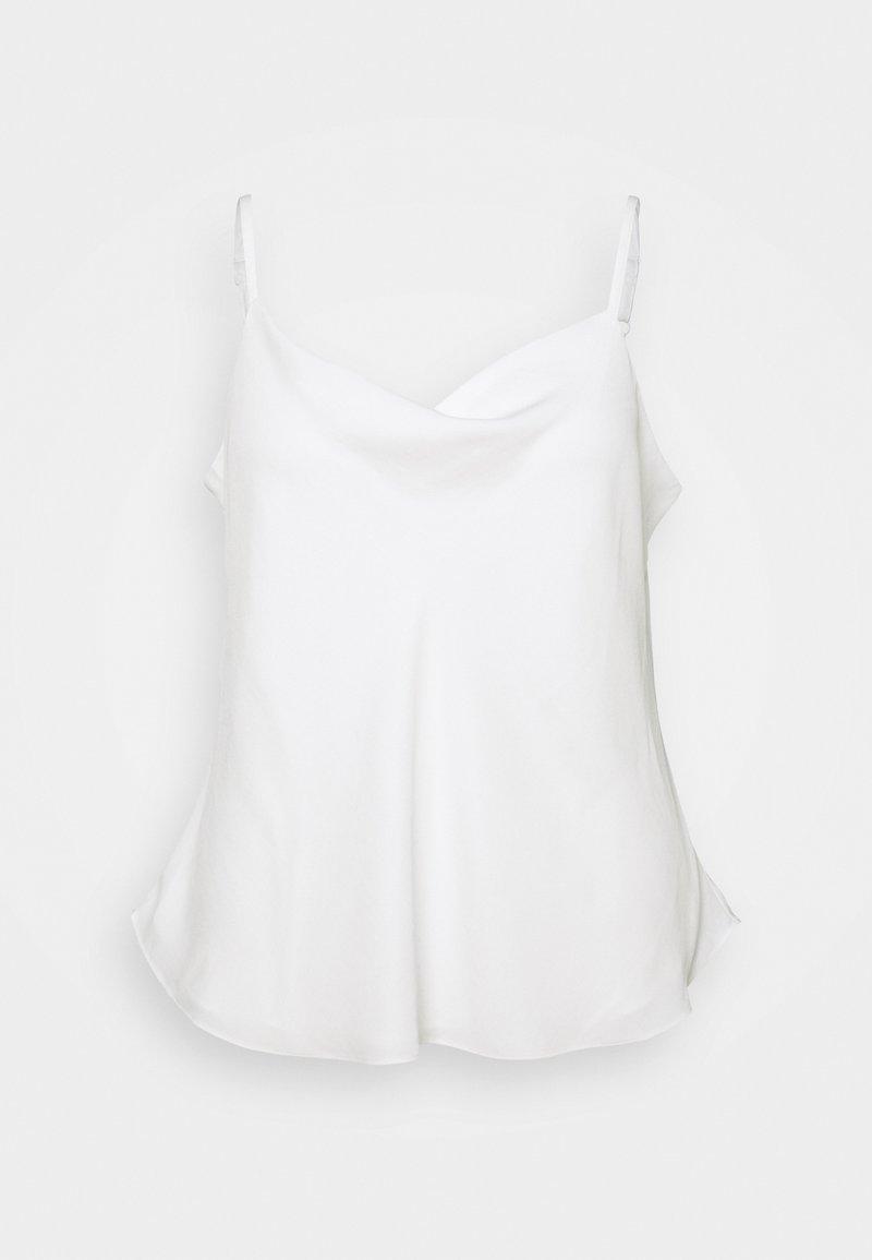 Forever New Curve - MARIAH COWL NECK CAMISOLE - Top - porcelain