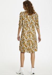 Cream - EMMELIECR  - Day dress - tinsel flowers - 3