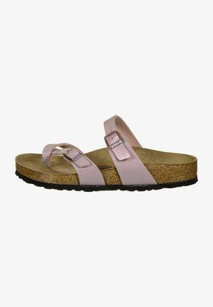 MAYARI - T-bar sandals - violett