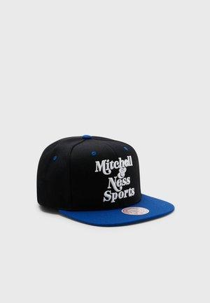 MITCHELL&NESS BRANDED TWO TONE RETRO SNAPBACK - Cap - black/royal