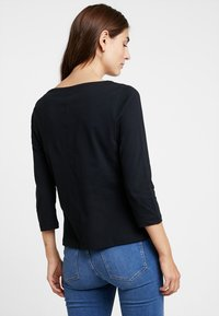 Tommy Hilfiger - NEW TILLY BOAT TEE - Long sleeved top - black - 2