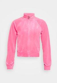 Juicy Couture - TANYA TRACK - Sweater met rits - fluro pink - 4