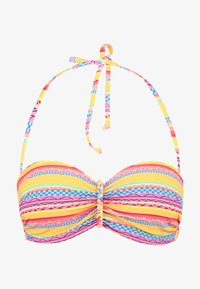 Buffalo - WIRE BANDEAU - Bikini top - yellow - 4
