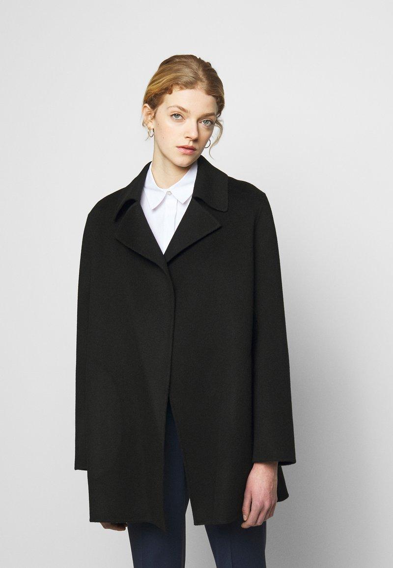 Theory - OVERLAY NEW DIVID - Short coat - black