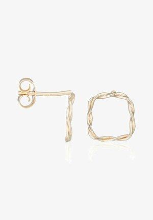 BOUCLES D'OREILLES OR JAUNE 375/1000 - Earrings - jaune or