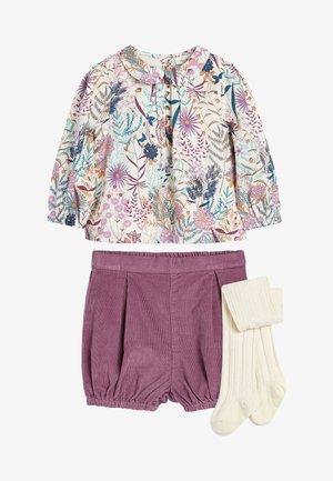 3 PIECE - Shorts - purple
