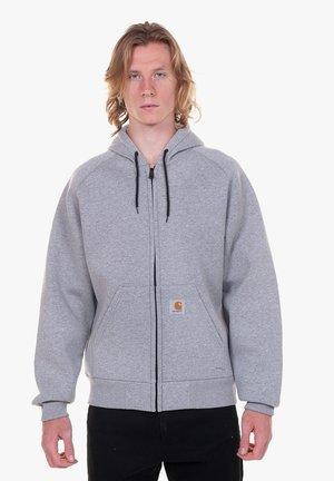 Zip-up sweatshirt - grigio
