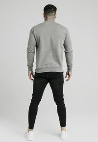 SIKSILK - PANELED CREW NECK - Sweatshirt - grey marl - 2