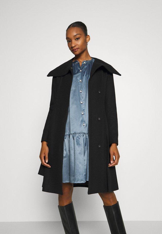 ZELENA COAT - Cappotto classico - black