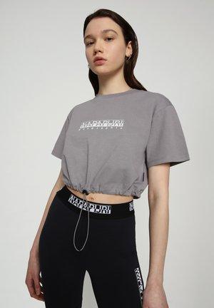 S BEATNIK - Print T-shirt - grey