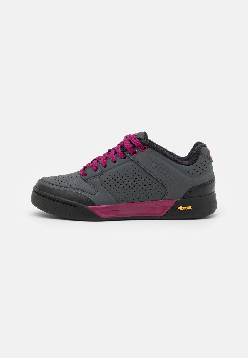 Giro - RIDDANCE - Cycling shoes - dark shadow/berry