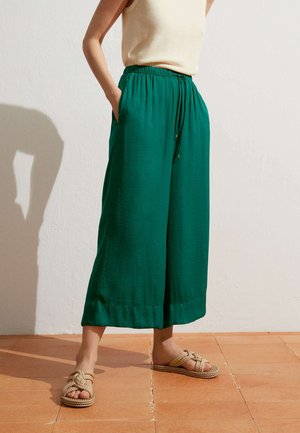 Kalhoty - evergreen