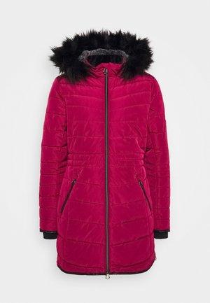 STRIKING JACKET - Płaszcz zimowy - beetroot