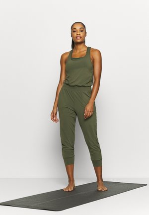 Jumpsuit - cargo khaki/medium olive