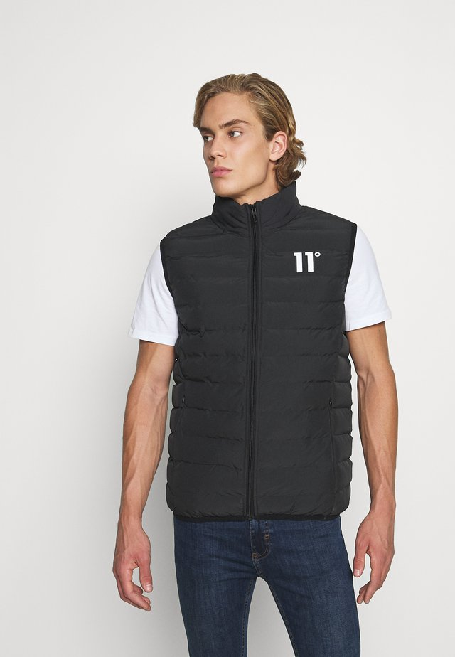 SPACE PADDED GILET - Chaleco - black
