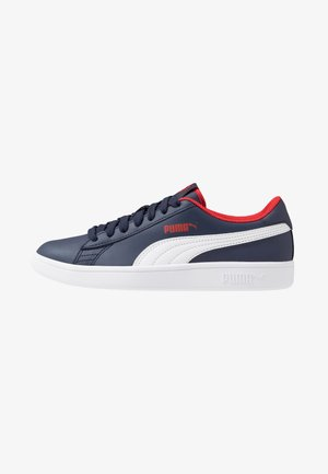 SMASH - Trainers - peacoat/white/high risk red