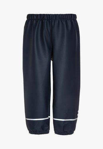 PUCK - Rain trousers - dark navy