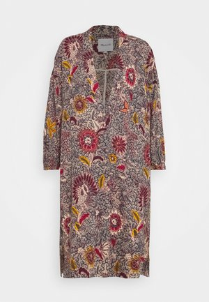 PRINTED ROBE - Kurtka wiosenna - dark baltic