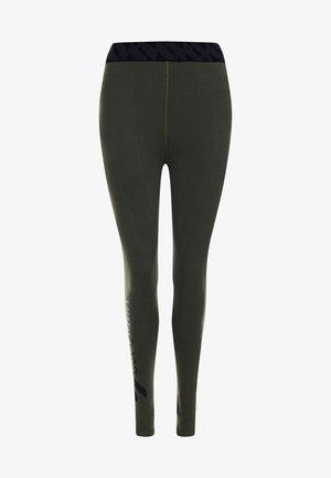 Leggings - Trousers - dark moss