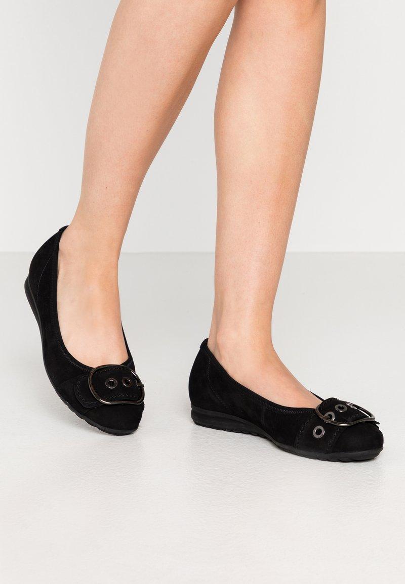 Gabor Comfort - Ballet pumps - schwarz