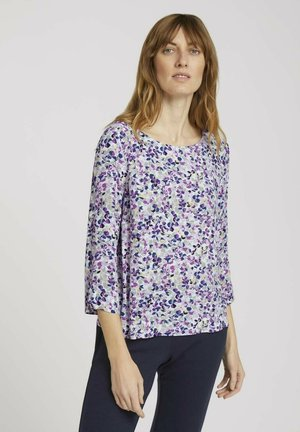Blouse - offwhite floral design