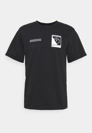 STEEP TECH LOGO TEE UNISEX  - Camiseta estampada - black
