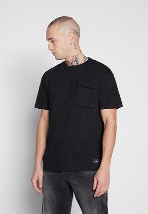 FULTON - T-shirt imprimé - black