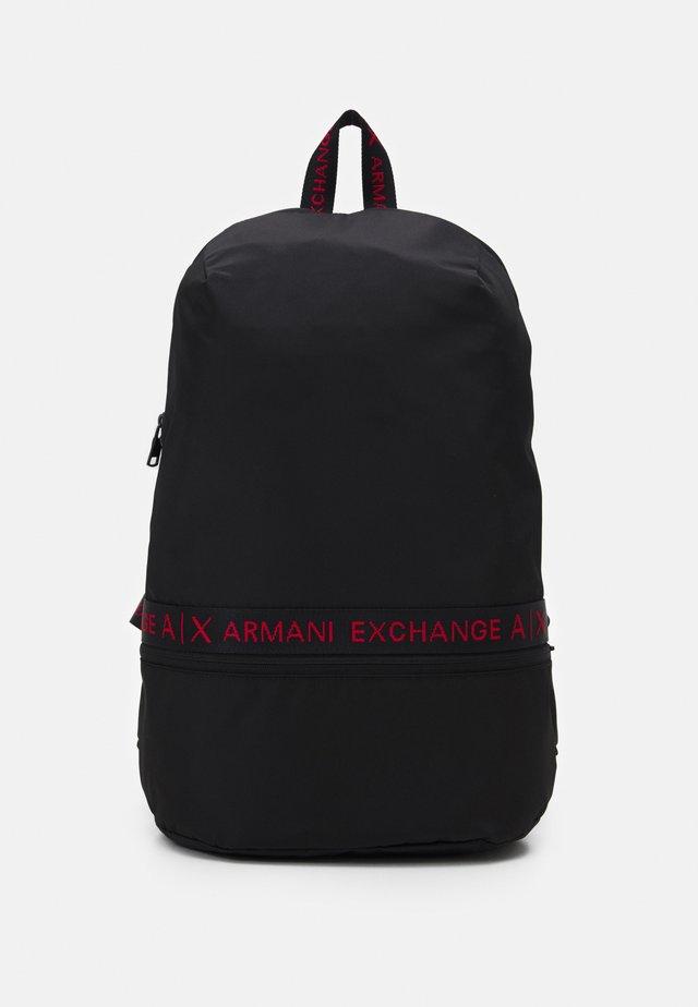 BACKPACK UNISEX - Rucksack - black/red