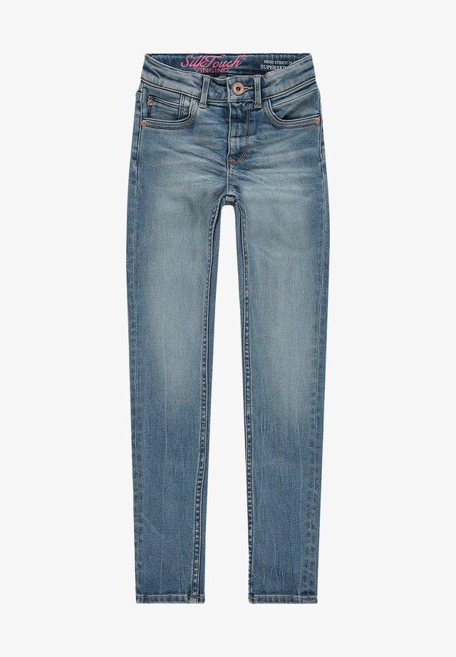 Slim fit jeans - mid blue wash