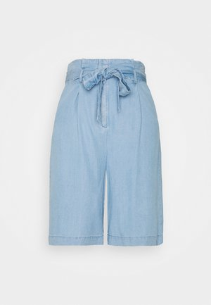 VMVIVIANANEVE - Shorts - light blue denim