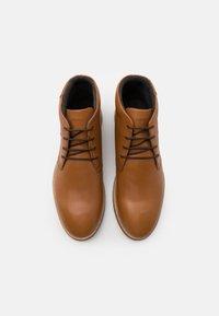 Strellson - HYDE PARK CAIRO - Zapatos de vestir - cognac - 3
