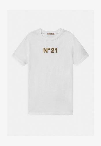 MAGLIETTA - T-shirt z nadrukiem - white