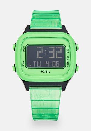 Digital watch - green