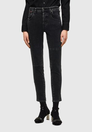 Slim fit jeans - black/dark grey