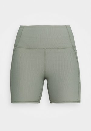 POCKET BIKE SHORT - Leggings - basil green