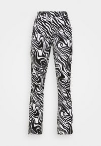 Juicy Couture - JOYPRINTED TROUSERS - Trousers - mono wave - 4