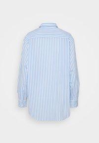 Lacoste - Button-down blouse - nattier blue/white - 6