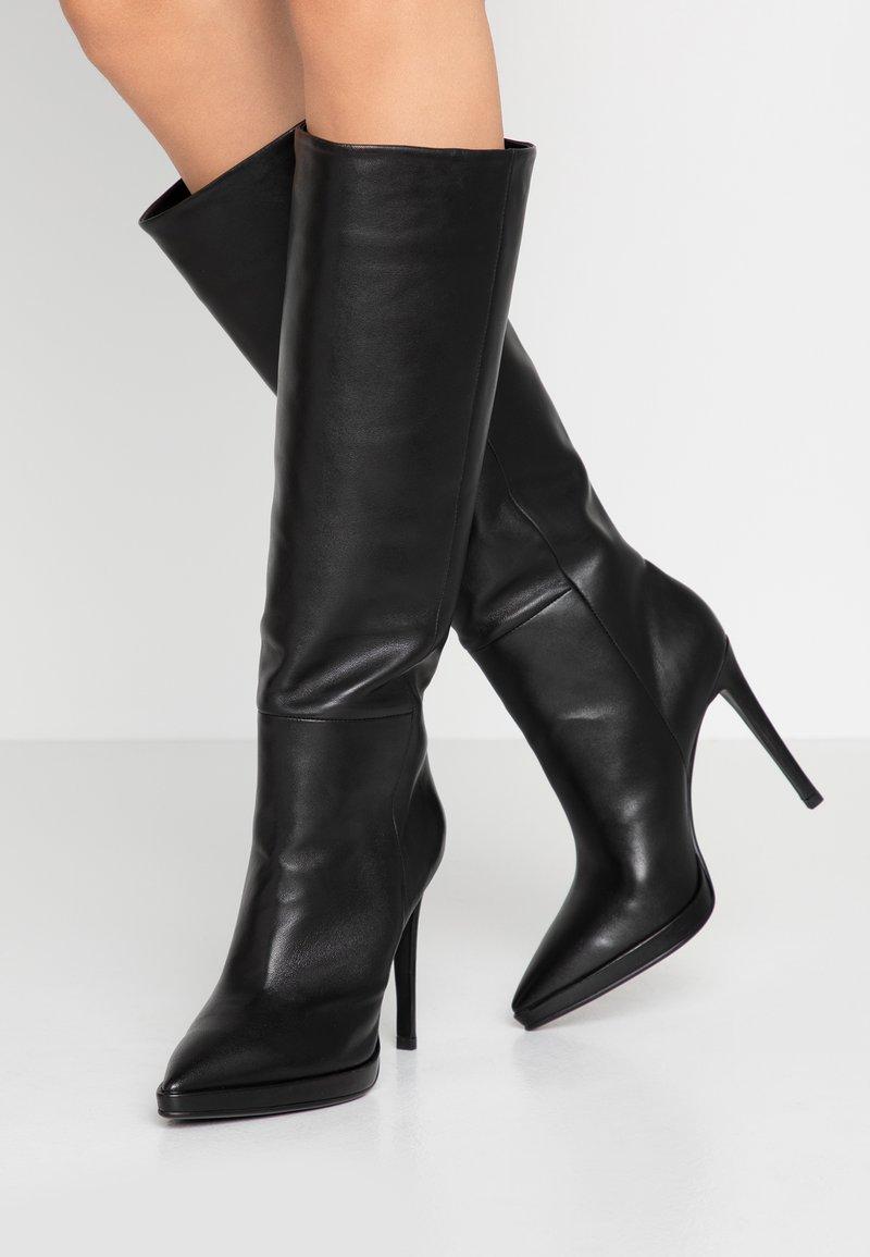 Lola Cruz - High heeled boots - black