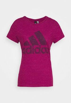 WINNERS TEE - Camiseta estampada - berry