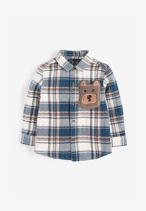 BEAR POCKET  - Shirt - blue