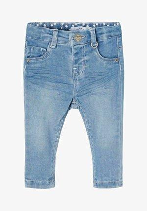 SLIM FIT - Slim fit jeans - medium blue denim