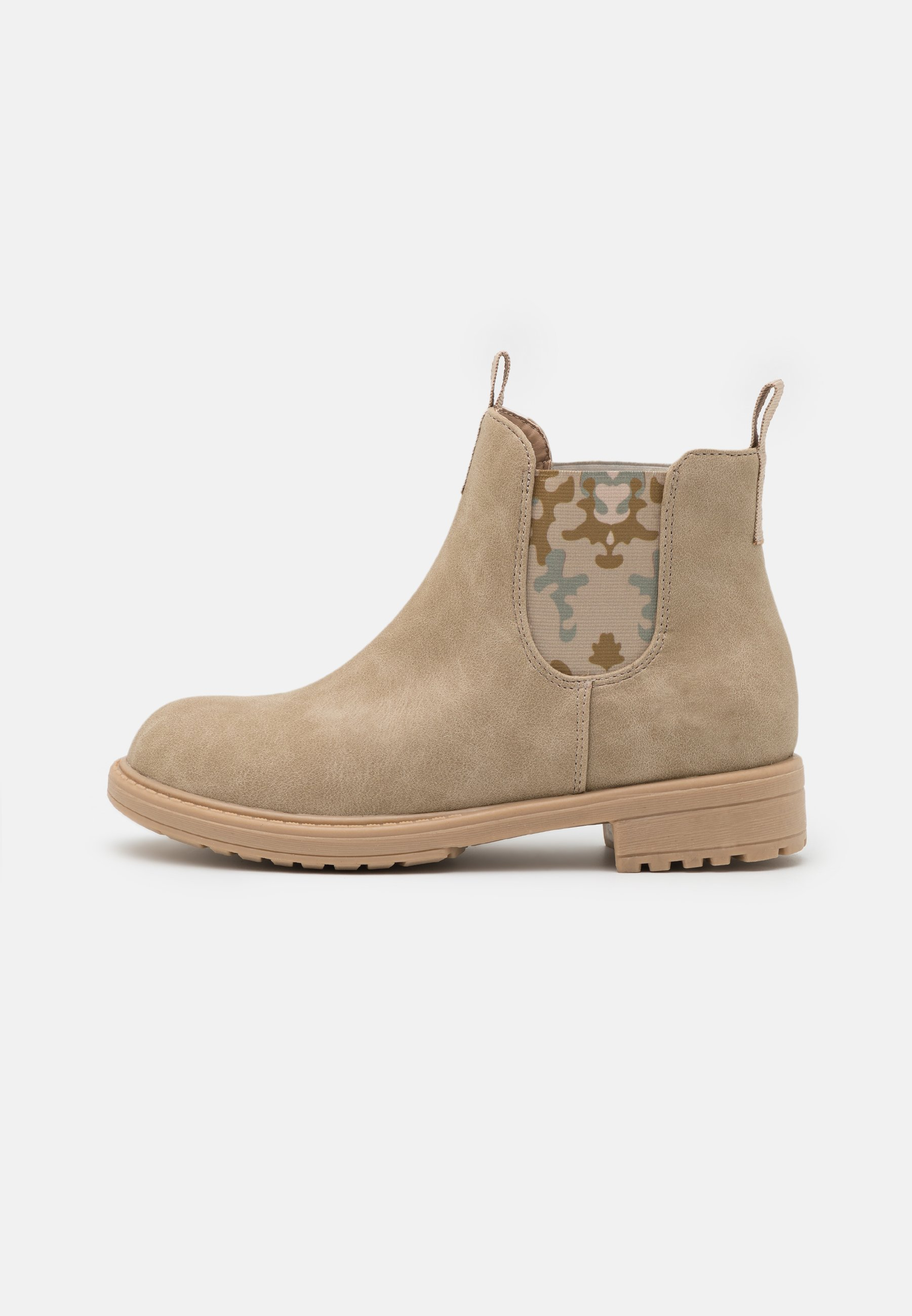 Kids PULL ON GUSSET BOOT - Classic ankle boots - semolina