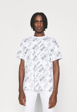 WARRANTY REPEAT - T-shirt med print - bianco ottico
