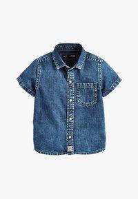 Next - BLUE SHORT SLEEVE DENIM SHIRT (3MTHS-7YRS) - Camisa - blue - 0