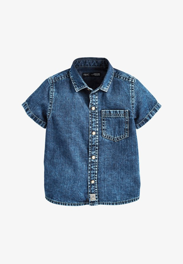 BLUE SHORT SLEEVE DENIM SHIRT (3MTHS-7YRS) - Camisa - blue
