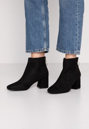 BRIXTON - Kotníková obuv - black