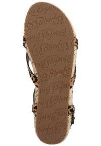 Blowfish Malibu - VEGAN GRANOLA - T-bar sandals - sahara leopard 336 - 4