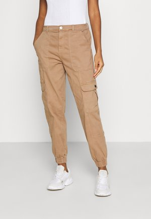 ONLGIGI CARRA LIFE  - Cargo trousers - tigers eye